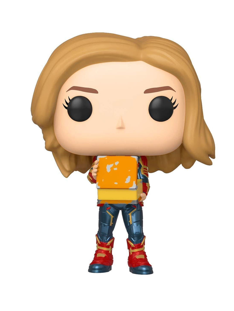 Funko POP Funko POP Marvel: Captain Marvel Holding Lunchbox