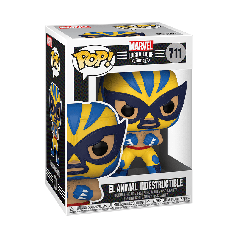 Funko POP Funko POP! Marvel Lucha Libre Edition - El Animal Indestructible