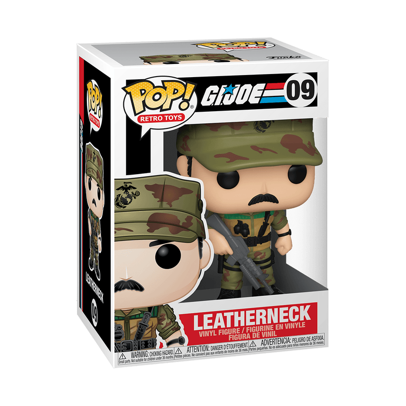 Funko POP Funko POP! Retro Toys: G.I. Joe Leatherneck