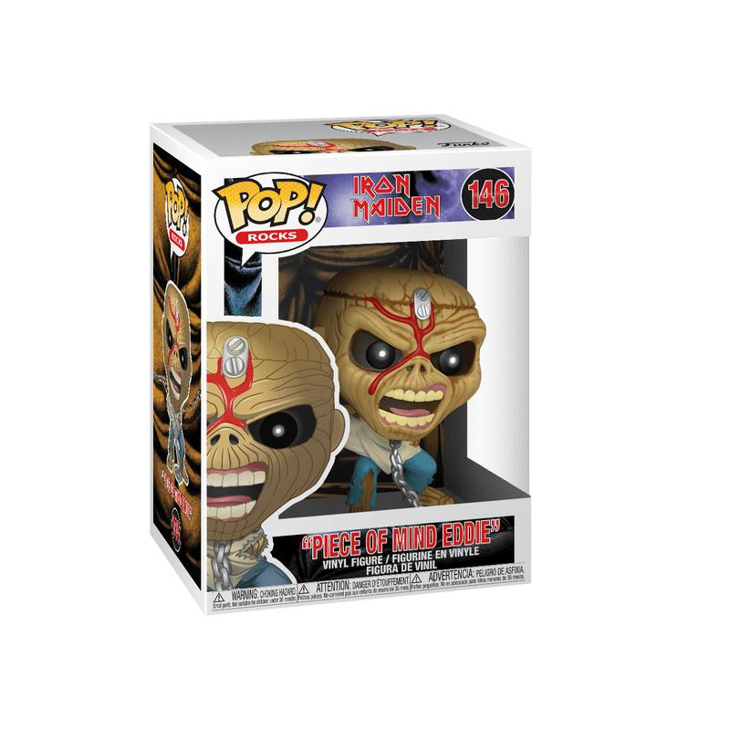Funko POP Funko POP! Rocks: Iron Maiden Piece of Mind Eddie Vinyl Figure