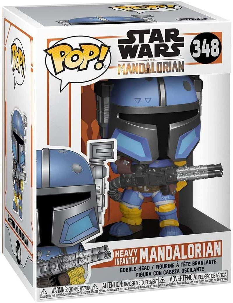 Funko POP Funko POP Star Wars: The Mandalorian Heavy Infantry