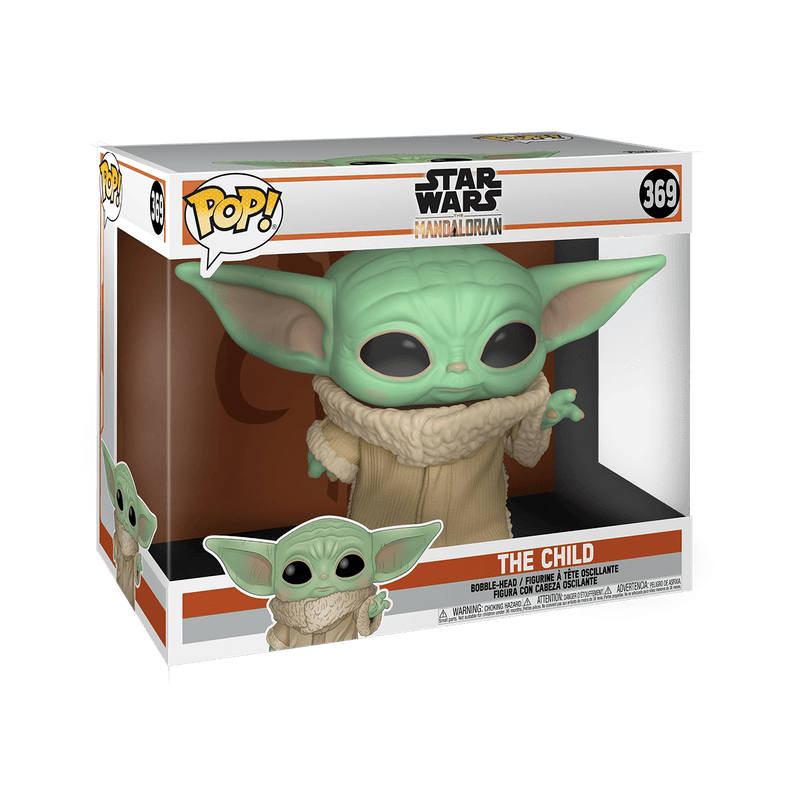 "Funko POP Funko POP Star Wars: The Mandalorian The Child Pop! Vinyl Figure 10"" POP Popoloco"
