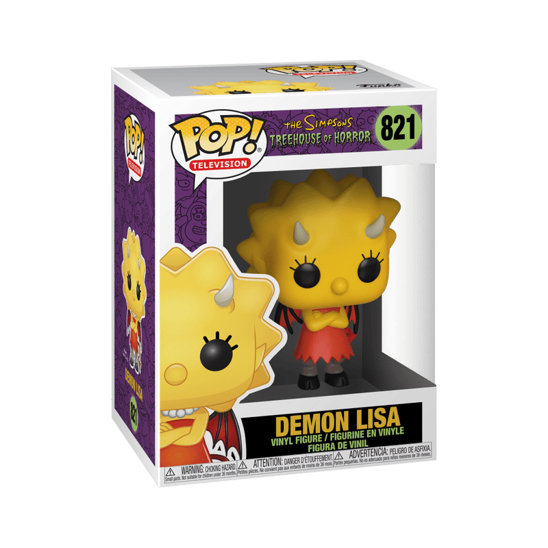 Funko POP Funko POP! Television Simpsons Treehouse of Demon Lisa