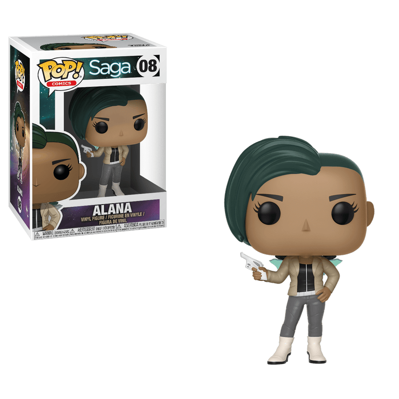 Funko POP POP! Comics: Saga Alana with Gun