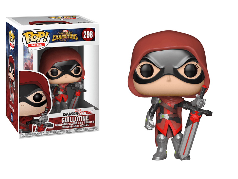Funko POP POP! Games: Marvel Contest of Champions Guillotine