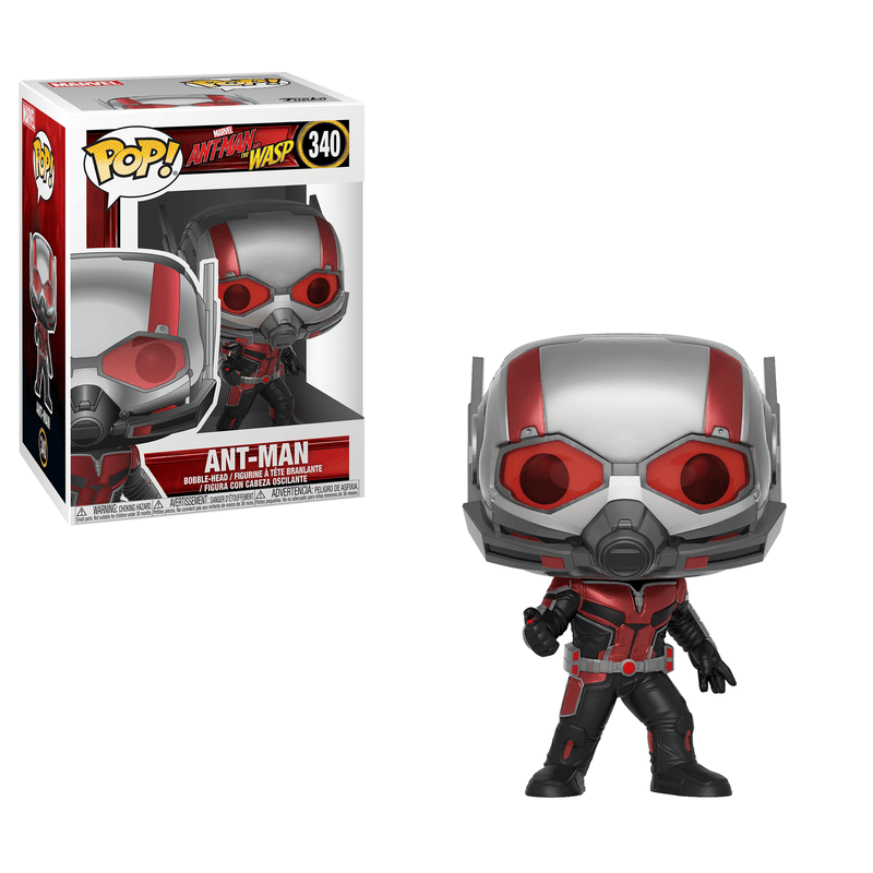 Funko POP POP! Marvel: Ant-Man & The Wasp Ant-Man Pop! Vinyl Figure
