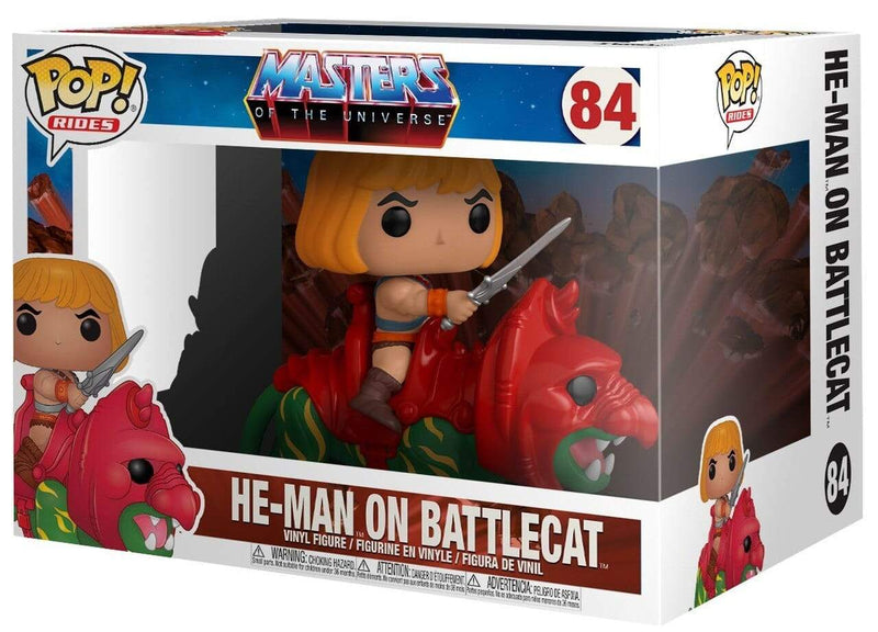 Funko POP Rides Funko POP! Rides Television: Masters of the Universe He-Man on Battle Cat