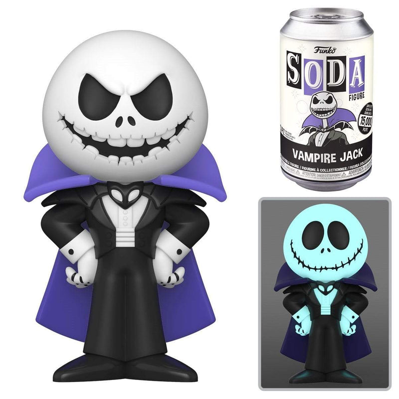 Funko Vinyl Collectible Funko Vinyl Soda: The Nightmare Before Christmas Vampire Jack Popoloco