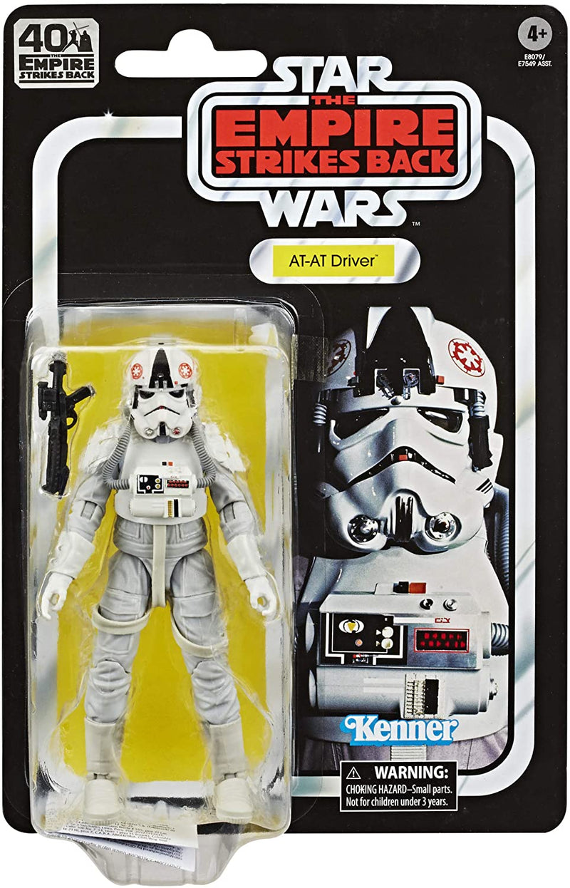 Hasbro Action Figures AT-AT Driver 6-Inch Scale Action Figure - Star Wars The Black Series Empire Strikes Back 40th Anniversary Popoloco