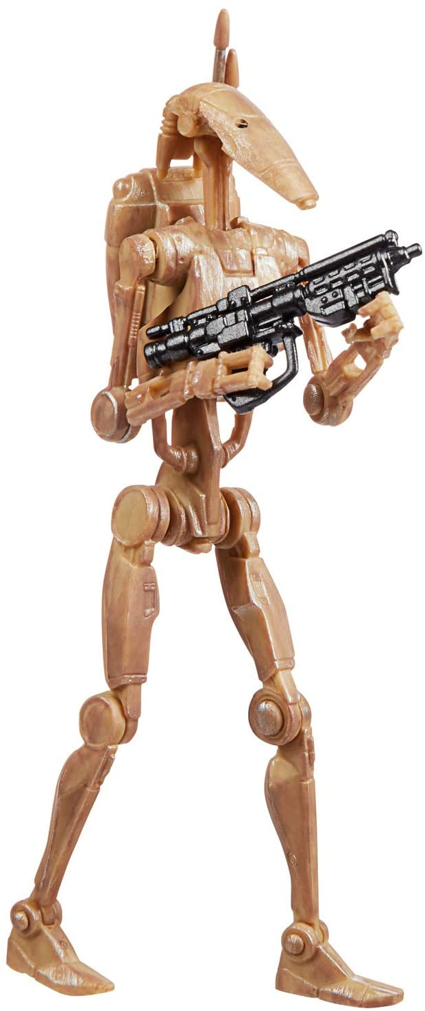Hasbro Action Figures Battle Droid 3.75-inch Figure - Star Wars The Vintage Collection Popoloco