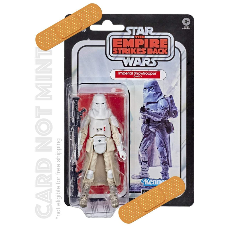 Hasbro Action Figures Card not Mint Hasbro Star Wars The Black Series Empire Strikes Back 40th Anniversary 6 in. Imperial Snowtrooper Figure Popoloco