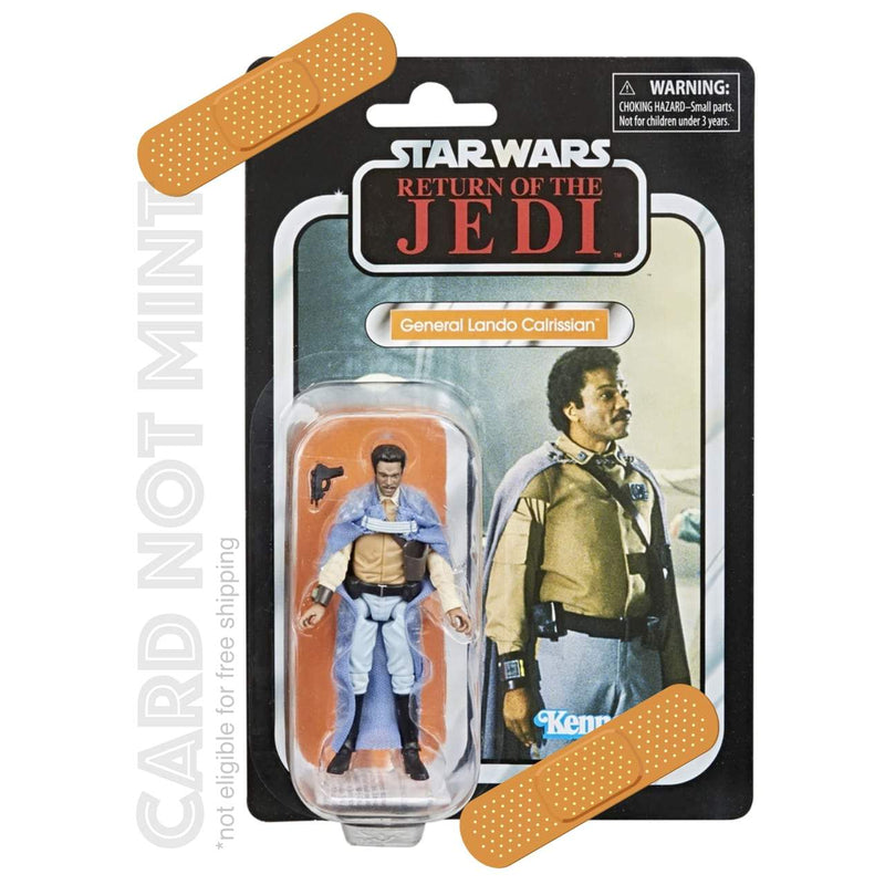 "Hasbro Action Figures Card not Mint Star Wars The Vintage Collection General Lando Calrissian 3 3/4"" Figure Popoloco"