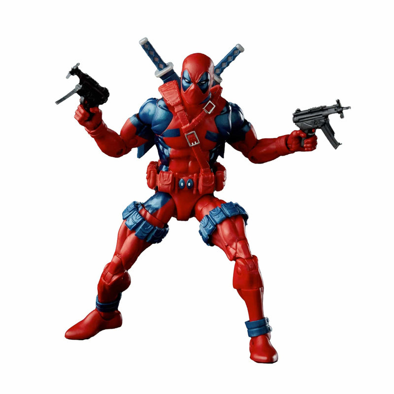 Hasbro Action Figures Marvel 80th Anniversary Legends Series Deadpool Figure Popoloco