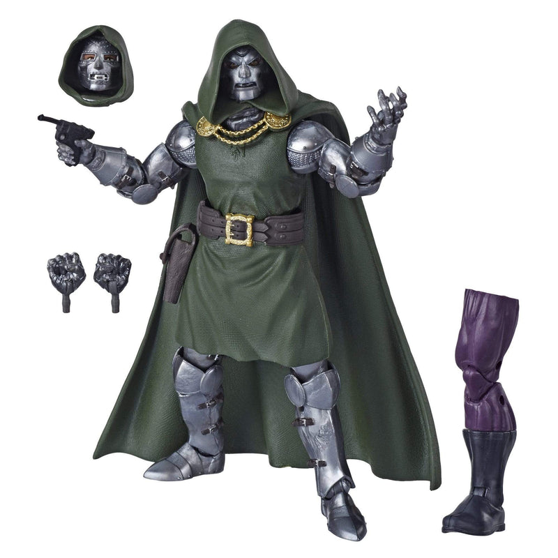 Hasbro Action Figures Marvel Legends Series Fantastic Four Doctor Doom Figure Popoloco