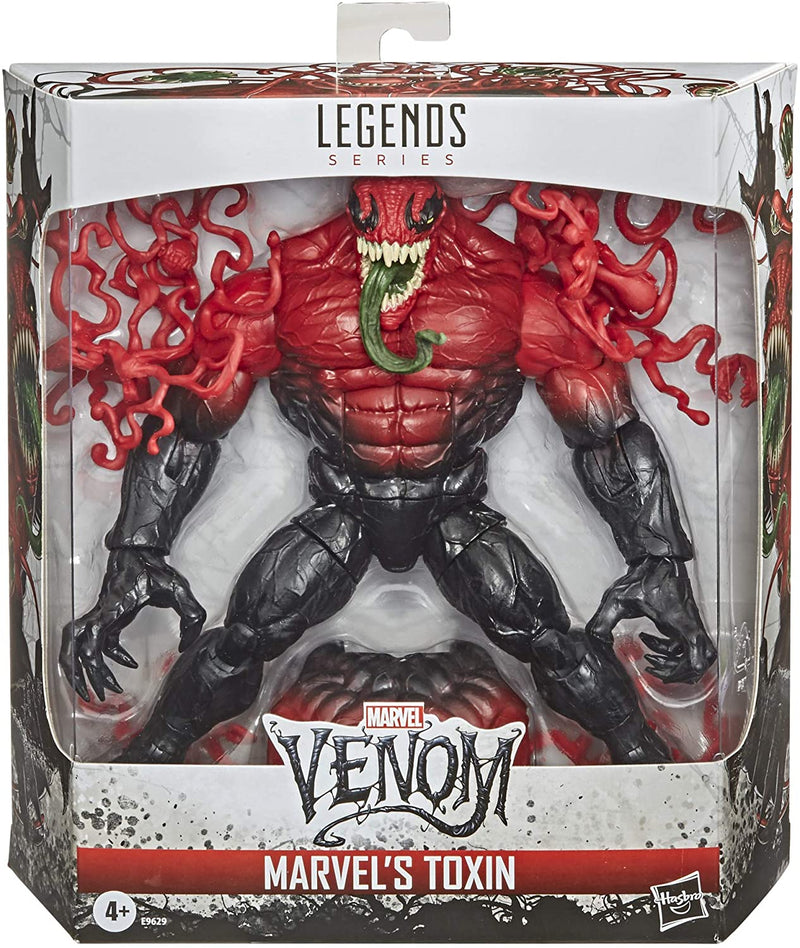 Hasbro Action Figures Marvel Legends Series Marvel's Toxin Popoloco