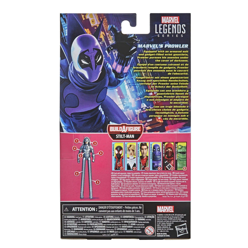 Hasbro Action Figures Marvel Legends Series Spider-Man: Into Spider-Verse Marvel's Prowler Popoloco