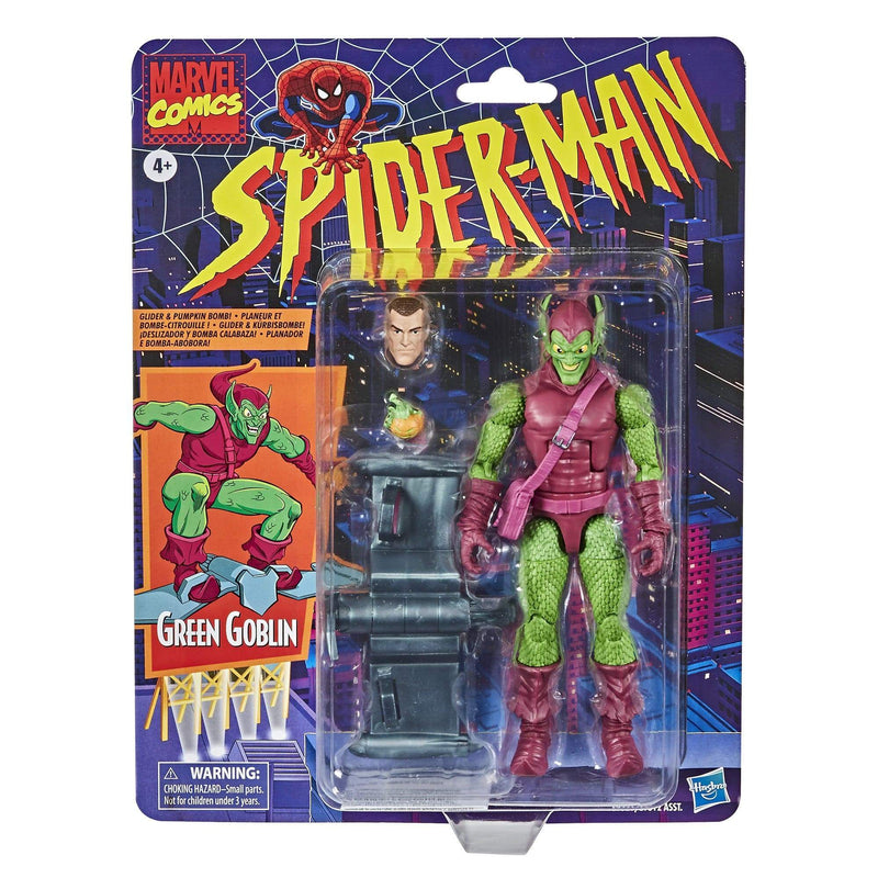 Hasbro Action Figures Marvel Retro Collection Green Goblin Figure Popoloco