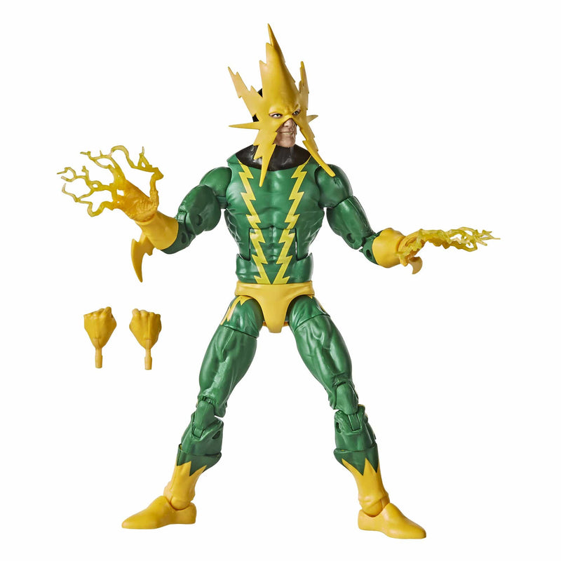 Hasbro Action Figures Marvel Retro Collection Marvel's Electro Figure Popoloco