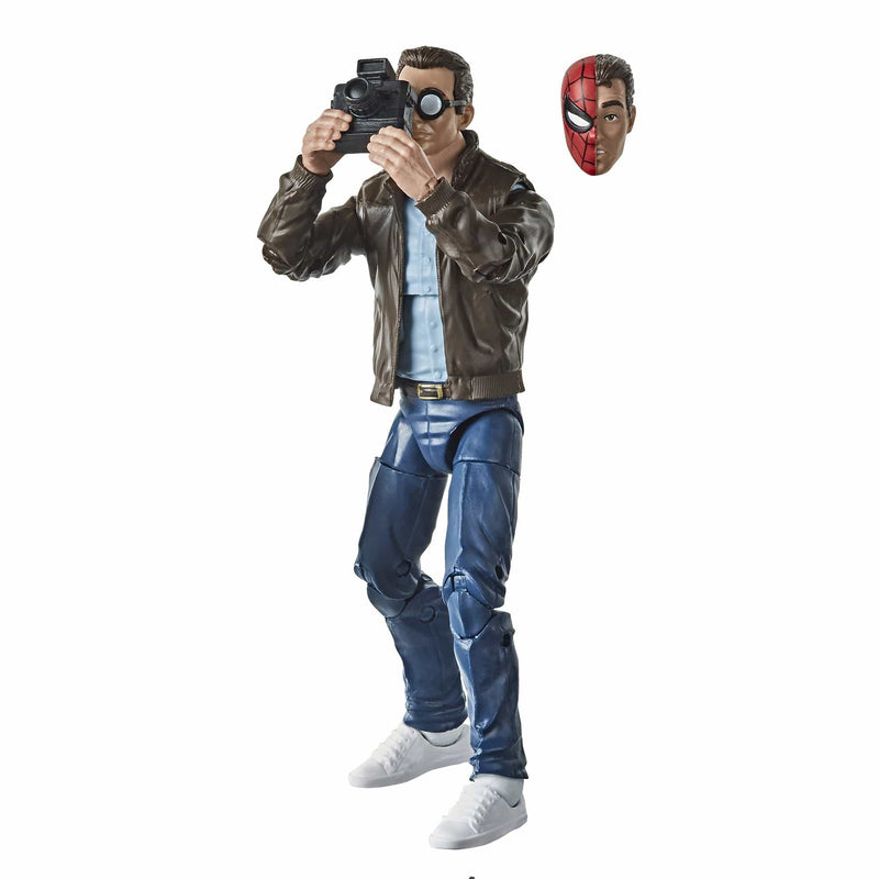 Hasbro Action Figures Marvel Retro Collection Peter Parker Figure Popoloco