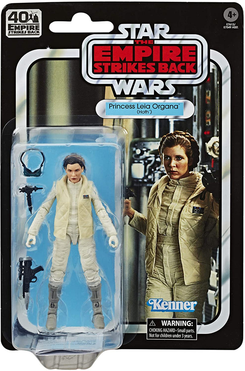 Hasbro Action Figures Princess Leia Organa (Hoth) 6-Inch Action Figure - Star Wars The Black Series Empire Strikes Back 40th Anniversary Popoloco
