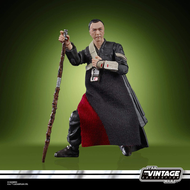 Hasbro Action Figures Star Wars Chirrut Îmwe Vintage Collection 3 3/4 inch Action Figure Popoloco