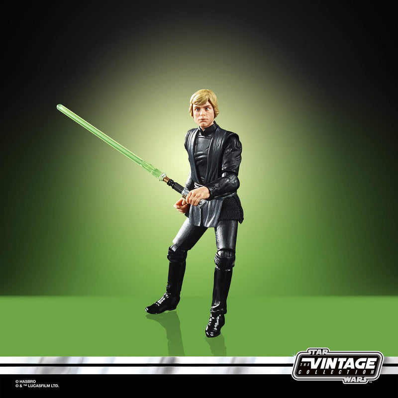 Hasbro Action Figures Star Wars Luke Skywalker (Jedi Knight) Vintage Collection 3 3/4 inch Action Figure Popoloco