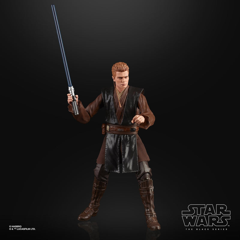 Hasbro Action Figures Star Wars The Black Series Anakin Skywalker (AOTC Padawan) Figure Popoloco