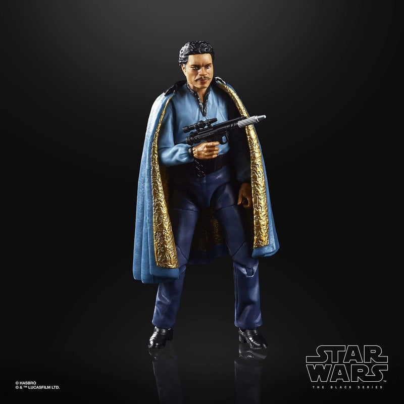 Hasbro Action Figures Star Wars The Black Series Empire Strikes Back 40th Anniversary Lando Calrissian 6-Inch Action Figure Popoloco