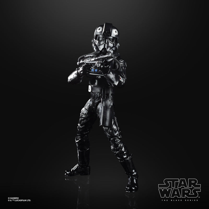 Hasbro Action Figures Star Wars The Black Series Empire Strikes Back 40th Anniversary Tie Figher Pilot 6-Inch Action Figure Popoloco