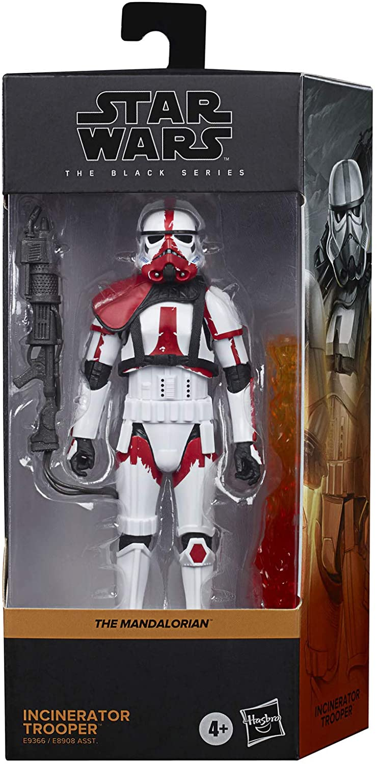 Hasbro Action Figures Star Wars The Black Series Incinerator Trooper Popoloco