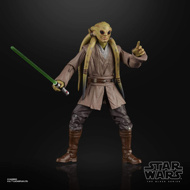 Hasbro Action Figures Star Wars The Black Series Kit Fisto Action Figure Popoloco