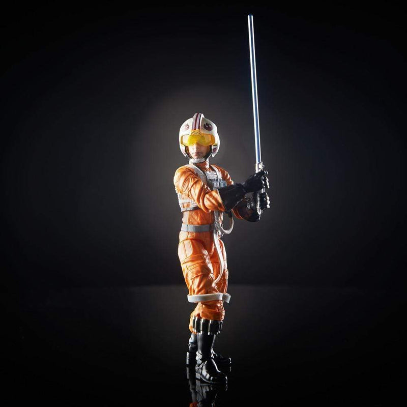 Hasbro Action Figures Star Wars The Black Series Luke Skywalker Archive 6-Inch Figure Popoloco