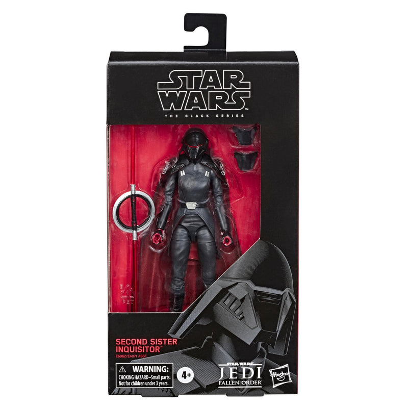 Hasbro Action Figures Star Wars The Black Series Second Sister Inquisitor 6 in - Jedi Fallen Order Popoloco