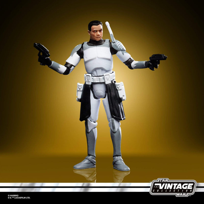 Hasbro Action Figures Star Wars The Vintage Collection Clone Commander Wolffe Figure Popoloco