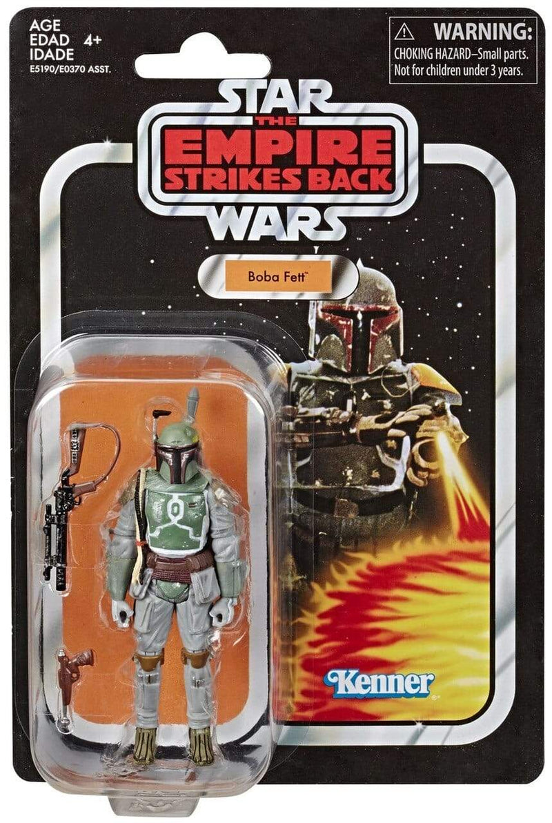 Hasbro Action Figures Star Wars The Vintage Collection Episode V Empire Boba Fett 3 3/4 Figure Popoloco