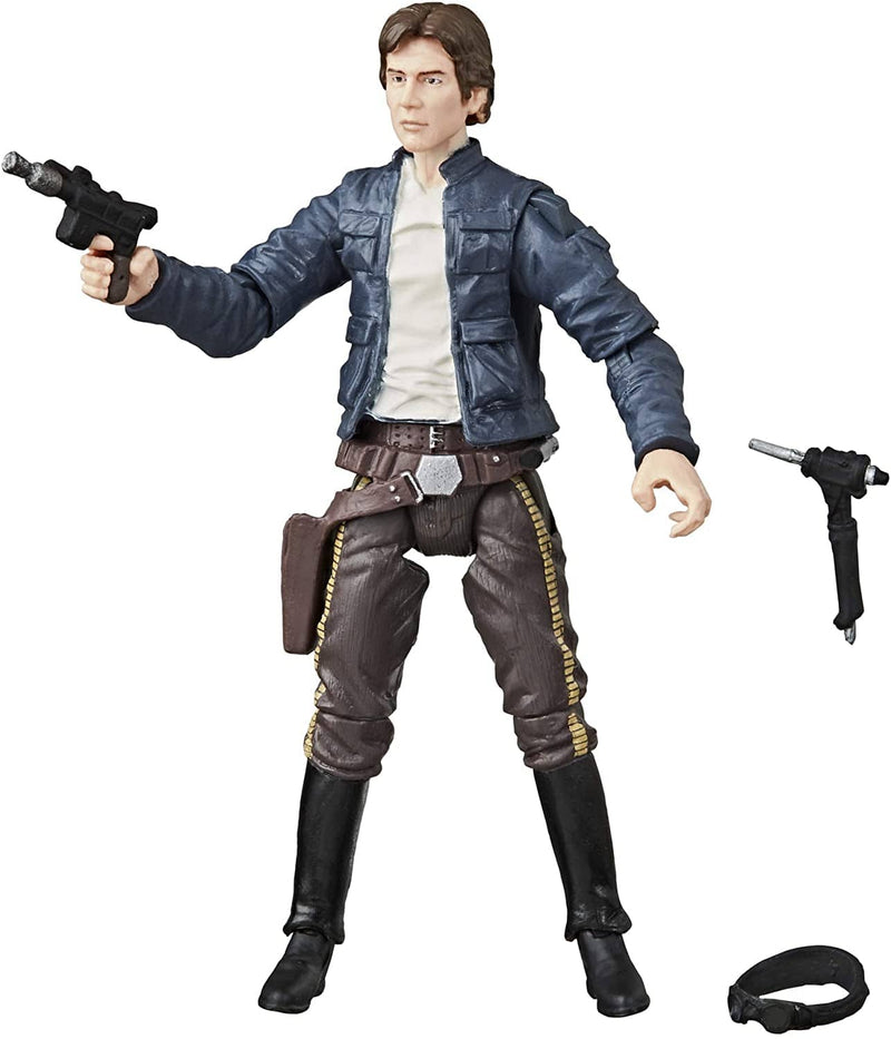 "Hasbro Action Figures Star Wars The Vintage Collection Han Solo (Bespin) Toy, 3.75"" Scale The Empire Strikes Back Figure Popoloco"