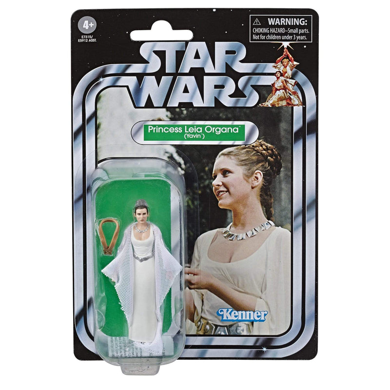 Hasbro Action Figures Star Wars The Vintage Collection Princess Leia Organa (Yavin) Figure Popoloco