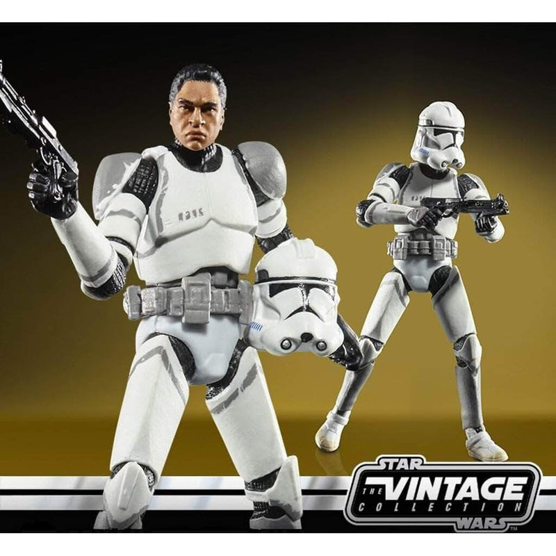 Hasbro Action Figures Star Wars Vintage Collection Elite Clone Trooper Popoloco