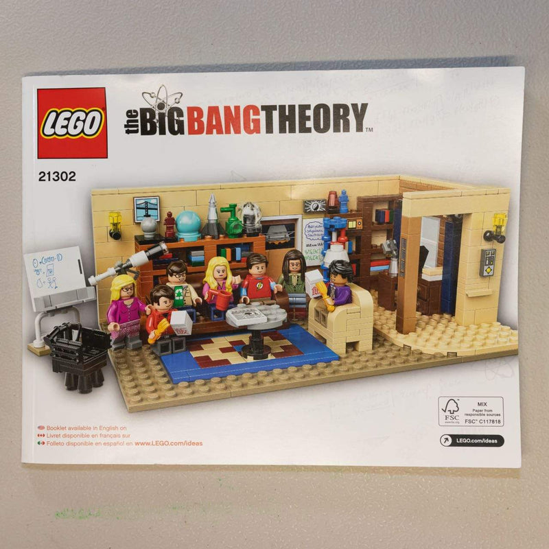 LEGO Construction Sets The Big Bang Theory - LEGO Ideas 21302 - Complete - open Box Popoloco