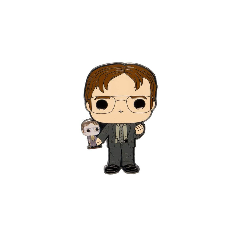 Loungefly Enamel Pin The Office Dwight Schrute Disguises Blind-Box Pop! Pin - EE Exclusive Popoloco