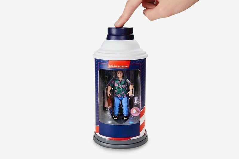 Mattel Action Figures Jurassic Park Barbasol Dennis Nedry Action Figure - 2020 Convention Exclusive Popoloco