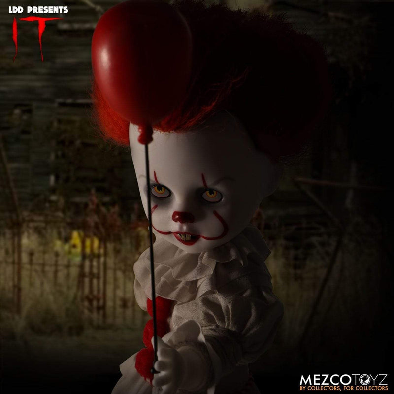 Mezco Action Figures LDD Presents -  IT: Pennywise Popoloco
