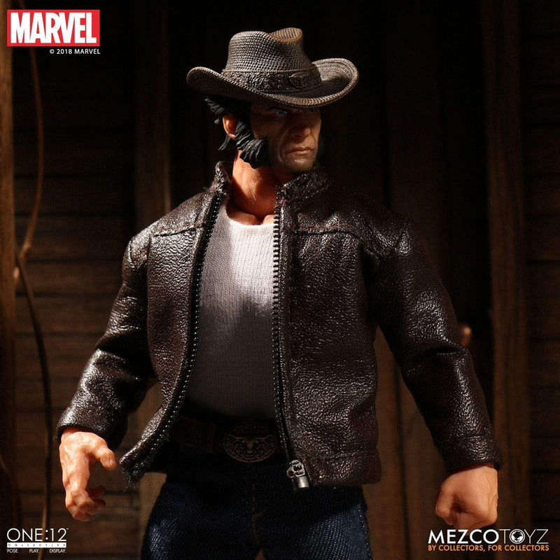 Mezco Action Figures Wolverine Logan One:12 Collective Action Figure Popoloco