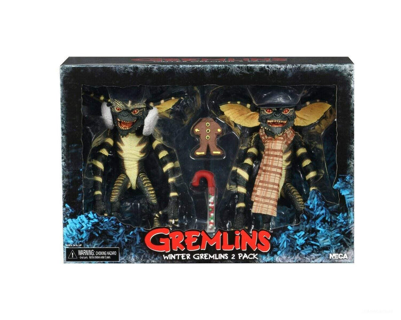NECA Action Figures Gremlins Christmas Carol Winter Scene 2 pack Popoloco