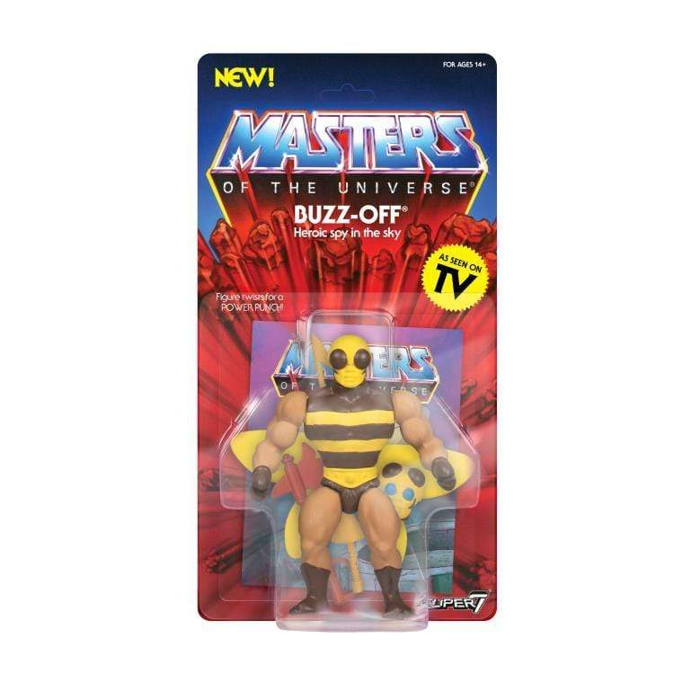 Super7 Action Figures Masters of the Universe Buzz-Off Action Figure Popoloco
