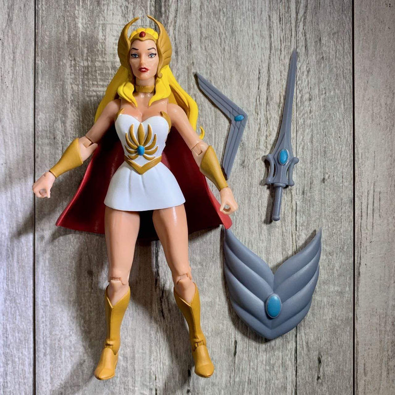 Super7 Action Figures Masters of the Universe Classics Club Grayskull She-Ra Popoloco