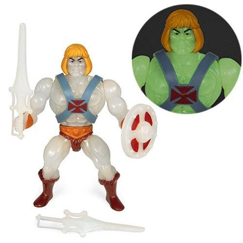 Super7 Action Figures Masters of the Universe Vintage Glow-in-the-Dark He-Man 5 1/2-Inch Action Figure Popoloco