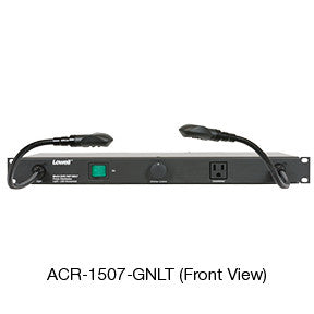 Rackmount Panels (with cord) – 15A power panel with lights