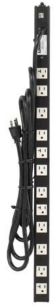 Power Strips with Surge Suppression – 20A power strip with cord