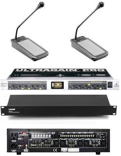 Paging & Soundmasking System Kit